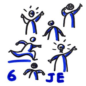 Voici 6 individualités différentes
