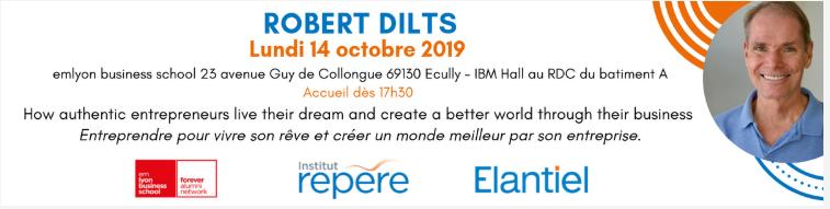 Invitation Conférence Robert Dilts